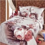 Комплект постельного белья Золотистая роза (евростандарт)