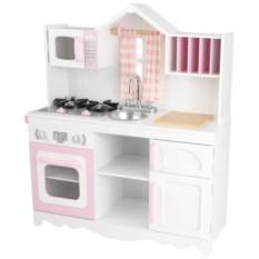 Игровая кухня для девочки из дерева Модерн