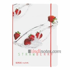 Тетрадь Herlitz my.book Flex A5 Plastic Strawberry