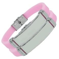 Розовые парные браслеты для двоих