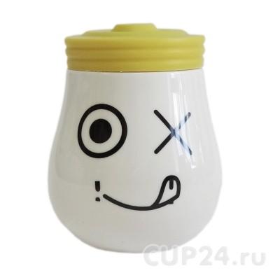Кружка «Лампа» (желтая)