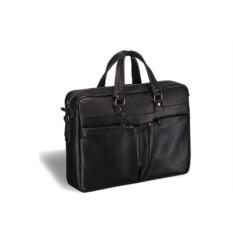Вместительная черная деловая сумка Brialdi Lakewood