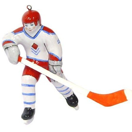 Ёлочная игрушка Хоккеист *