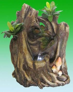 Фонтан Бонсайная композиция в дереве
