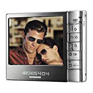 MP3-плеер ARCHOS 404 Camcorder (30Gb)
