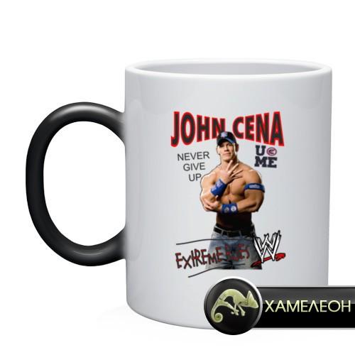Кружка-хамелеон John Cena Extreme Rules