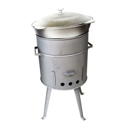 Печка «Очаг» с казаном на 9 литров