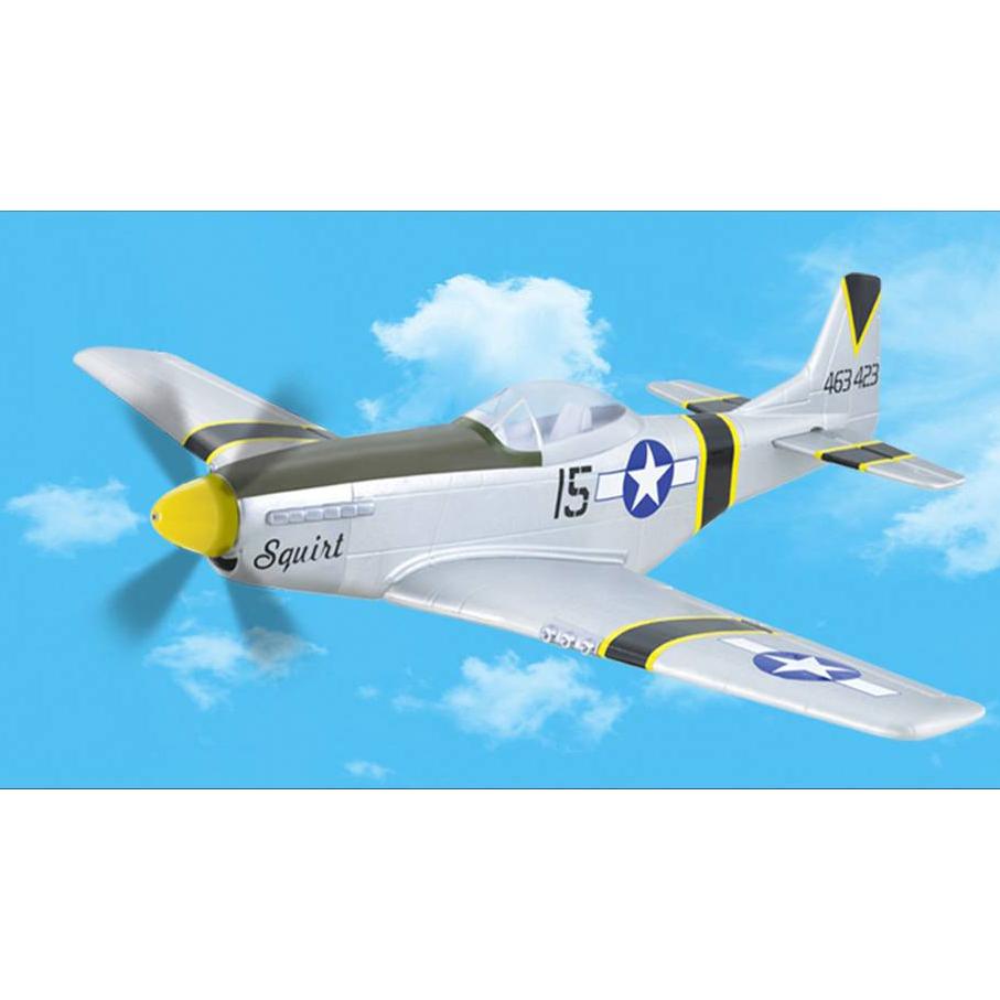 Радиоуправляемый самолет P-51