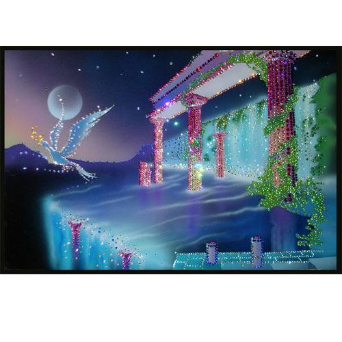 Хрустальная картина «Южная ночь»