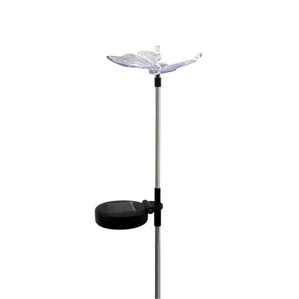 Солнечный светильник для сада «Бабочка»