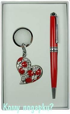 Подарочный набор «Сердце» (красный)