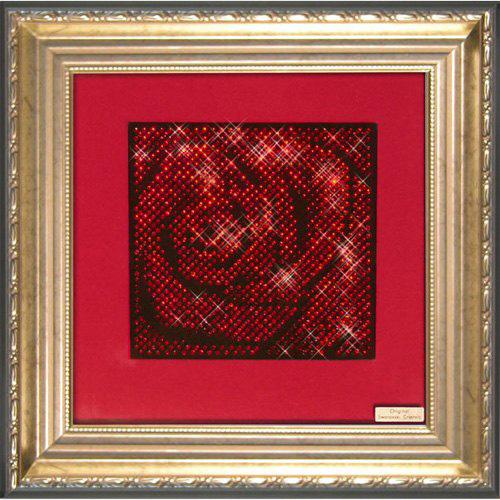 Картина «Роза красная»