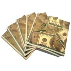 Салфетки Доллары