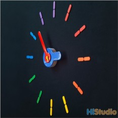 Настенные часы On time Rain Bow