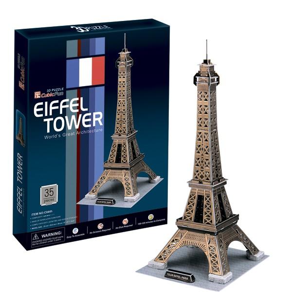 3D пазл Cubic Fun Эйфелева Башня (Париж)