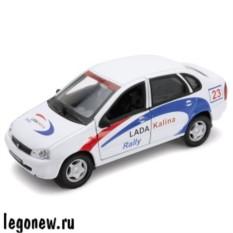Модель машины Welly 1:34-39 Lada Kalina Rally