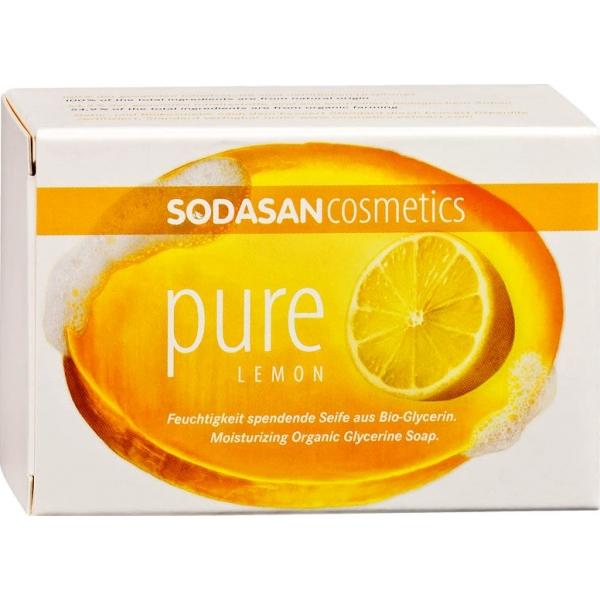 Мыло Sodasan «Лимон»