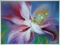 Картина Swarovski «Аленький цветочек-1»