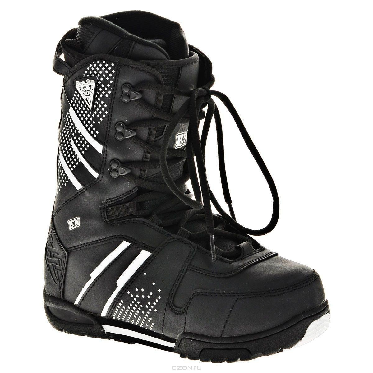 Ботинки для сноуборда Black Fire B&W, размер: 41