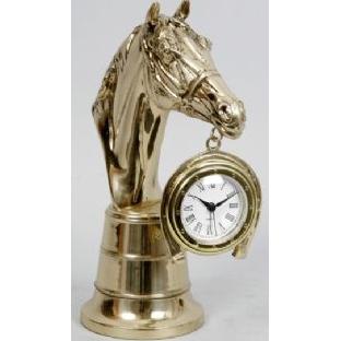 Часы-фигура из бронзы Virtus «Лошадь»