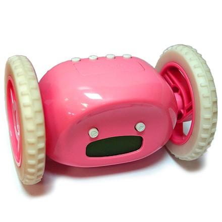 Розовые Часы - Будильник Инопланетянин