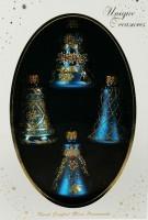 Набор ёлочных игрушек, колокольчики голубые