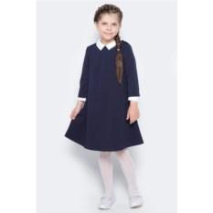 Темно-синее платье для девочки Orby School