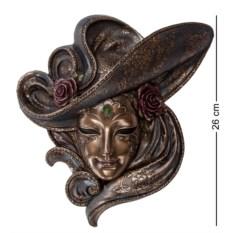 Венецианская маска Розы (цвет — бронзовый)