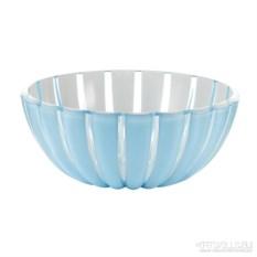 Голубая салатница Grace 25 см