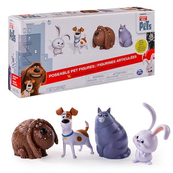Набор фигурок из м/ф Тайная жизнь домашних животных