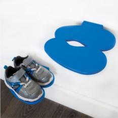 Полка для обуви Footprint голубая