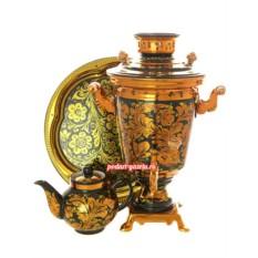 Набор для чаепития Золотая хохлома