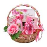 Подарочная корзина Garden rose