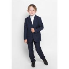 Темно-синий пиджак для мальчика S'cool