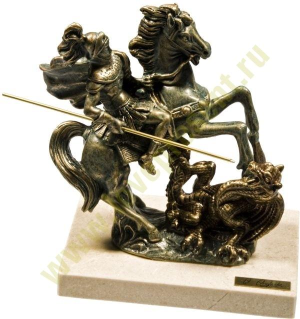 Малая скульптура «Георгий Победоносец»