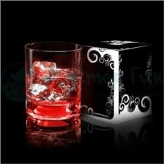 Красный светящийся бокал Glasshine shortdrink
