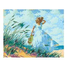 Картины по номерам «Прогулка у моря»