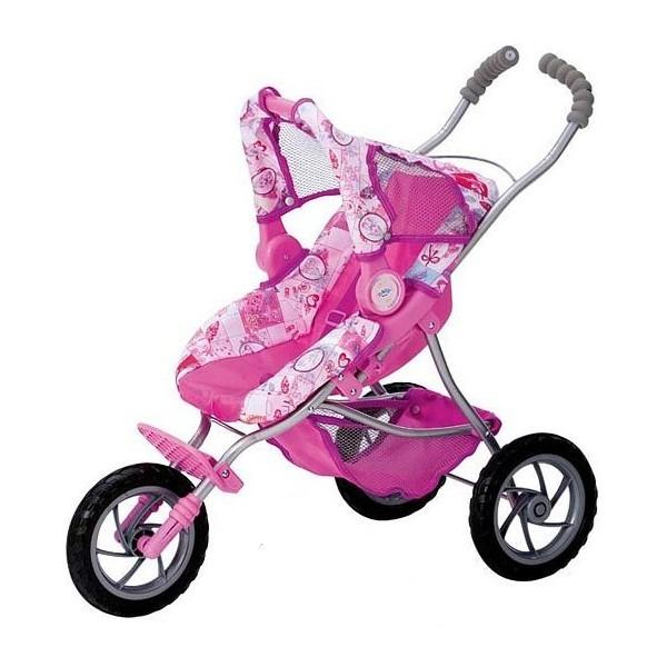 Трехколесная коляска для куклы BABY born