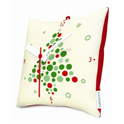 Новогодние часы «Подушка»