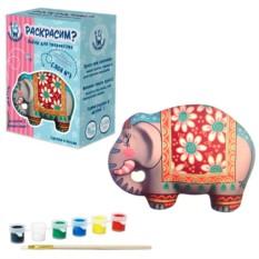Керамическая фигурка-раскраска «Слон»