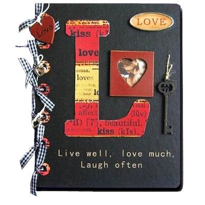 Дизайнерский фотоальбом «Love story»