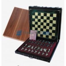 Подарочные металлические шахматы Греко-Романский Период