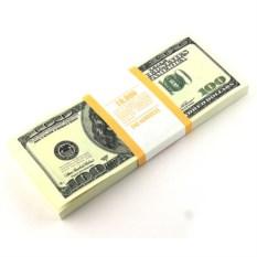 Блокнот Пачка 100$