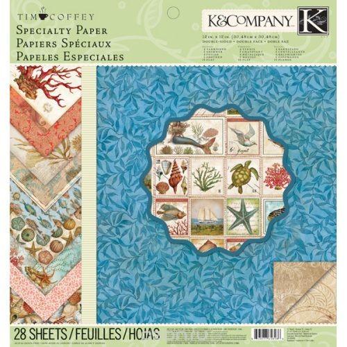 Набор бумаги для скрапбукинга K&Company Путешествие