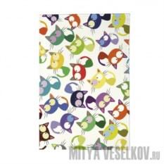 Обложка для паспорта Цветные кошки-мешанина