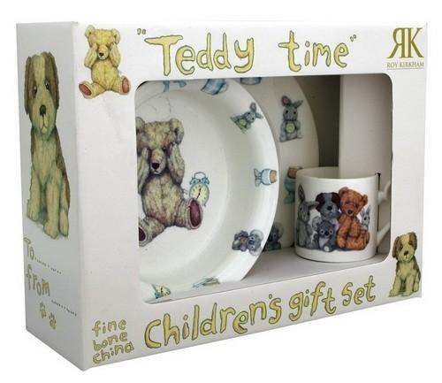 Набор детской посуды Тедди тайм (3 предмета)