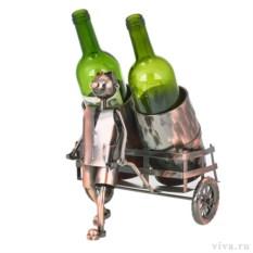 Держатель для бутылок «Много- не мало»