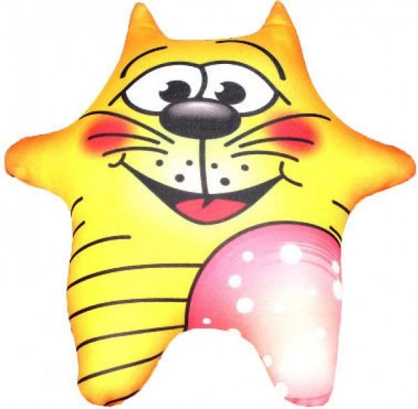 Игрушка антистресс Кот с колбасой (маленький)