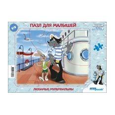 Пазл для малышей Любимые мультфильмы