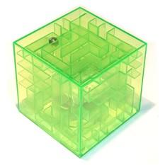 Копилка-головоломка Лабиринт, зеленая